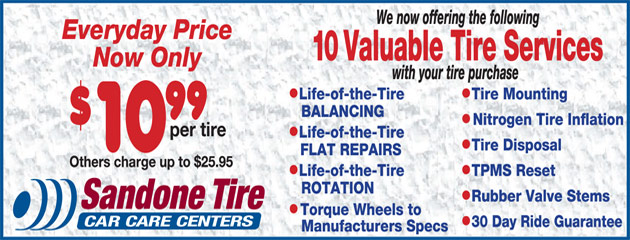 10 Valuable Tire Services