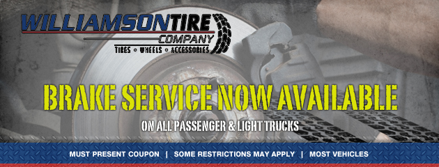Brake Service Now Available!