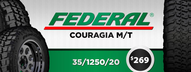 35/1250/20 Federal Couragia M/T for $249