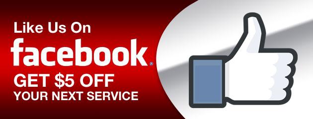 Like us on Facebook Slider