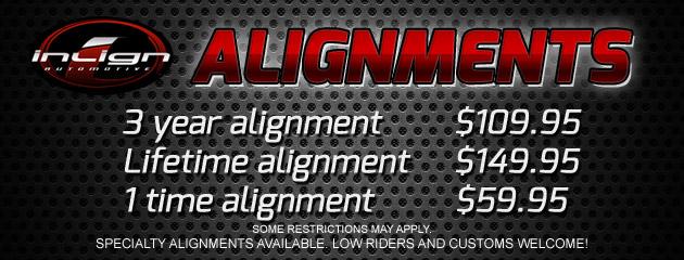 Alignment Specials