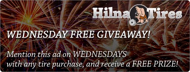 Free Prize Wednesday