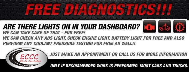 DealAFree Diagnosticsr Maintenance Work