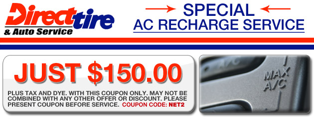 AC Recharge - $150.00