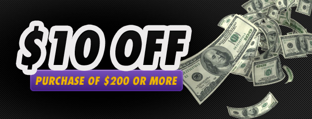 $10 OFF Purchase of $200