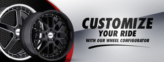 View Our Wheel iConfigurator