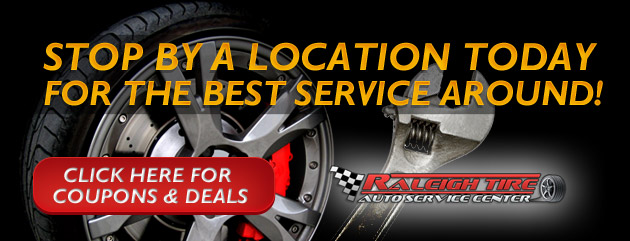 Raleigh Tire Coupons