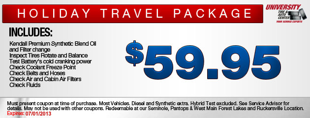 Holiday Travel Package