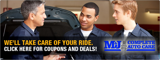M and J Auto Coupons