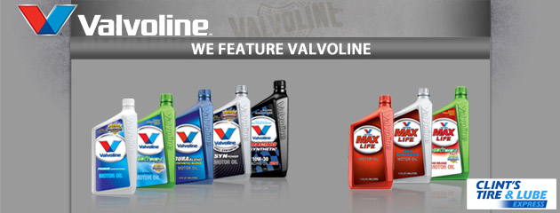 We Feature Valvoline Products