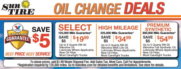 Oil Change Deals