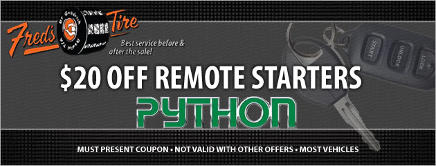$20 Off Remote Starters