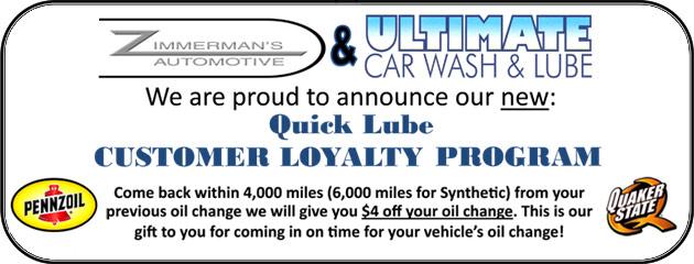 Quick Lube Loyalty Program