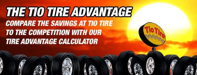 Tio Tire - Tire Advantage Calculator