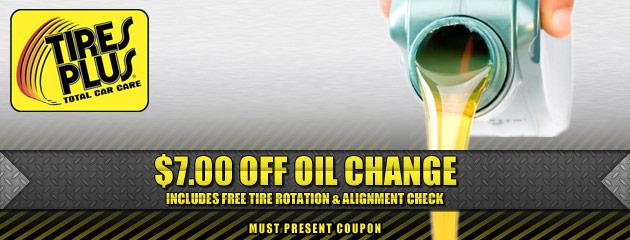 $7 Off Oil Change