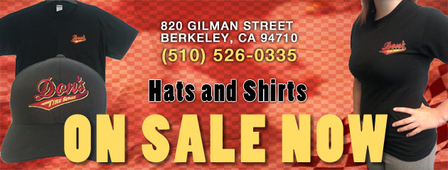 Hats and Shirts On Sale