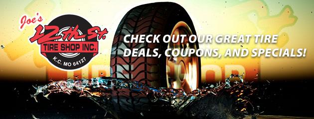 12th St Tire Shop Savings