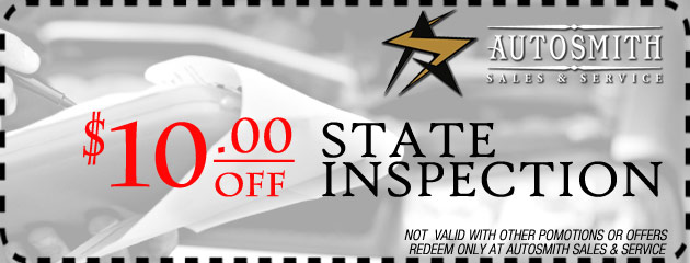 $10 off state inspection