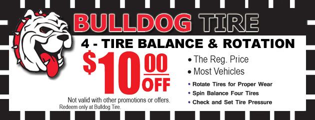 Four Tire Balance & Rotation