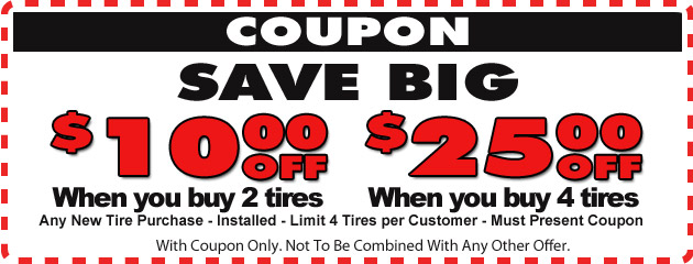 Save Big on Tires