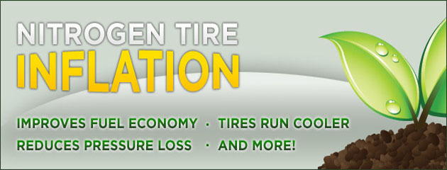 Nitrogen Tire Inflation