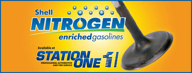 Shell Nitrogen Gasolines