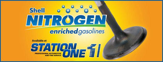 Shell Nitrogen Gasolines