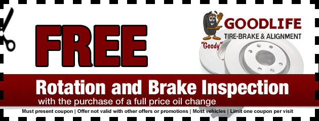 Tire Rotation and Brake Inspection Special