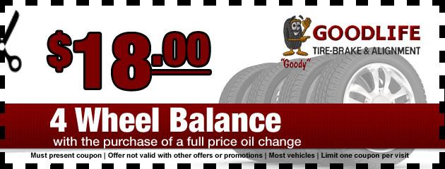 4 Wheel Balance Special