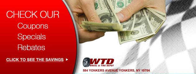 Wheel & Tire Depot Savings