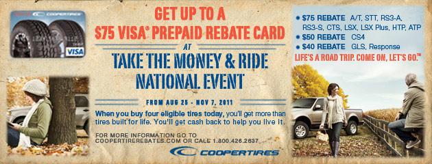 Cooper - Take the Money & Ride