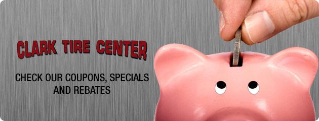 Clark Tire Center Savings