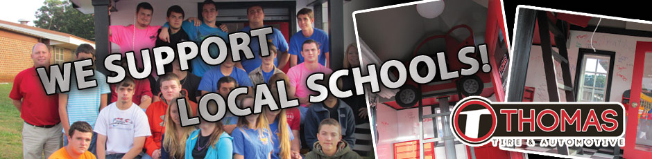 We Support Local Schools