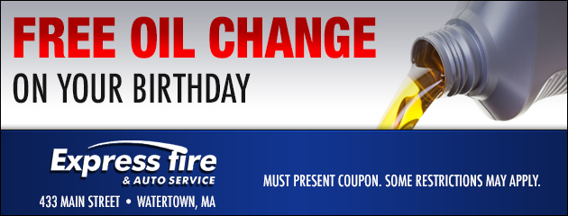 Free Oil Change on your Birthday