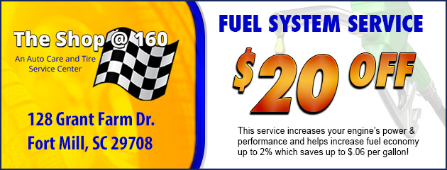 $20 Off Fuel System Service