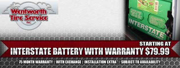 $79.99 Interstate Battery
