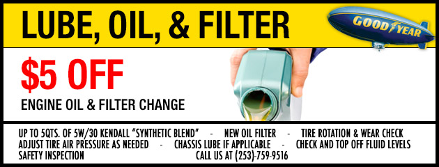 Lube Oil and Filter