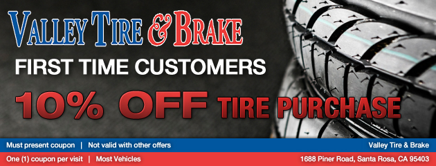 10% Off First Tire Purchase