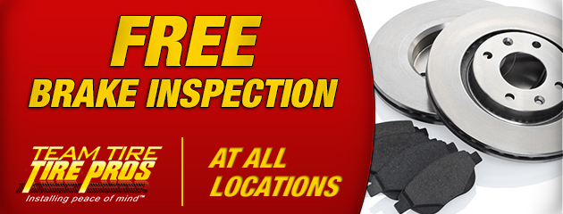 Free Brake Inspection - All locations