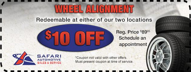 Wheels Alignment