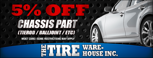 5% Off Chassis Part