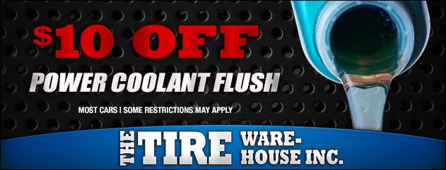 $10 Off Power Coolant Flush