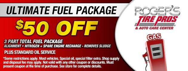 Ultimate Fuel Package