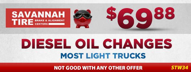 Diesel Oil Changes