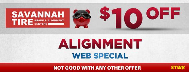 $10.00 Off Alignment - STW8
