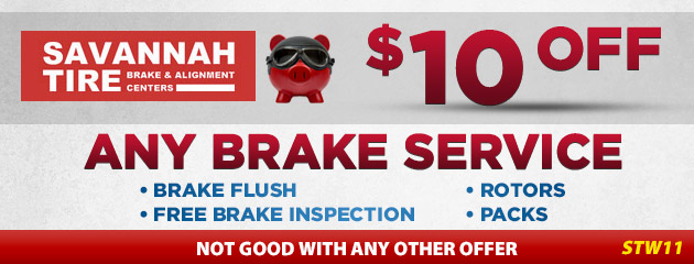 $10.00 Off Brake Service - STW11