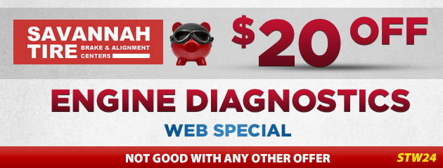 $20.00 Off Engine Diagnostics - STW24