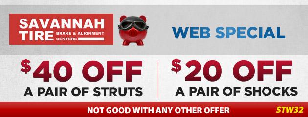 $40 Off Struts | $20 Off Shocks - STW32