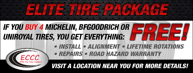 Elite Car Care Tire Package