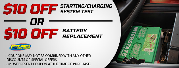 $10 Off Charging Test of Battery Replacement